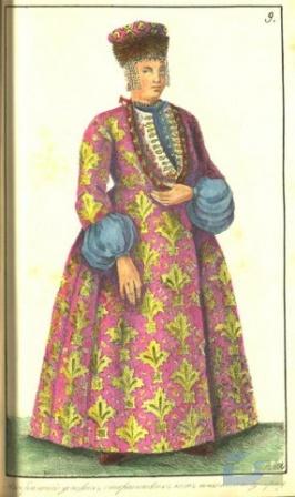 Жена казачьего старшины