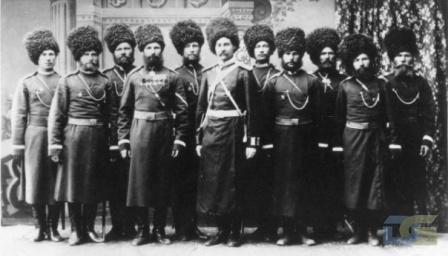 Уральские казаки.